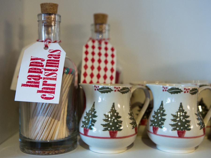 Christmas tree jugs