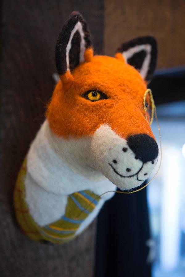 Wall fox