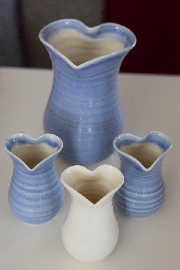 Heart jugs