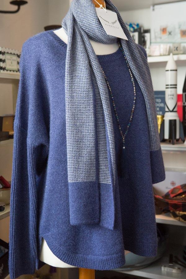 jumper & scarf
