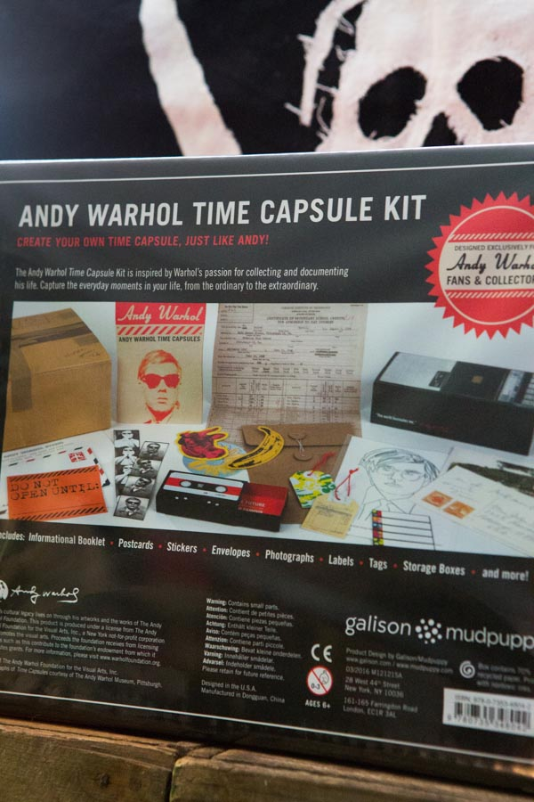 Andy Warhol time capsule